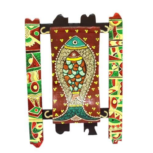 WALL HANGING KEY HOLDER PAINTED