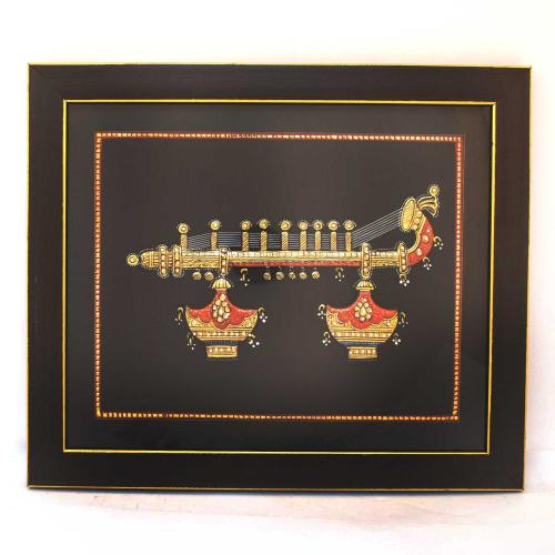 TANJORE PAINTING VEENA