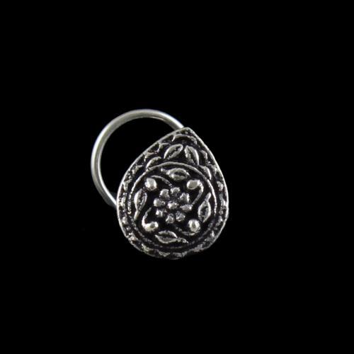 Silver Oxidize Nose Pin