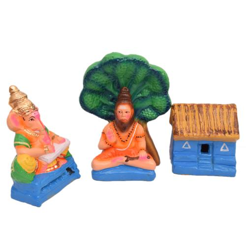 GOLU DOLL GANESHA BHARATH SET OF 4 PCS