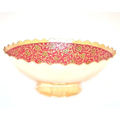 BOWL WITH FLOWER DESIGN