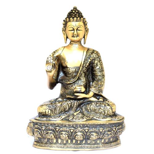 Blessing Buddha statue