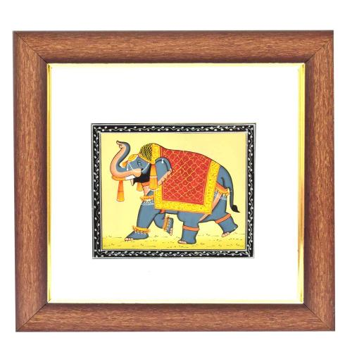 SILK PAINTING PA ELEPHANT