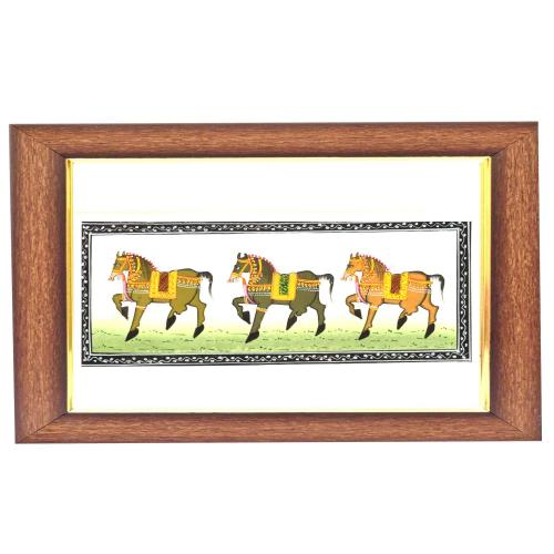 SILK PAINTING HORSE SMALL