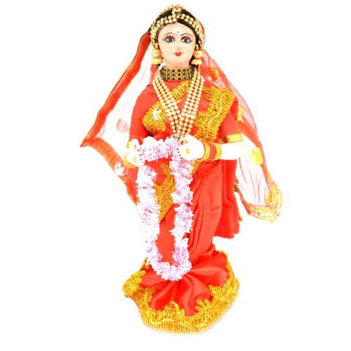 BENGALI FINE ART HAND MADE DOLL MADHYAPRADESH BRIDE