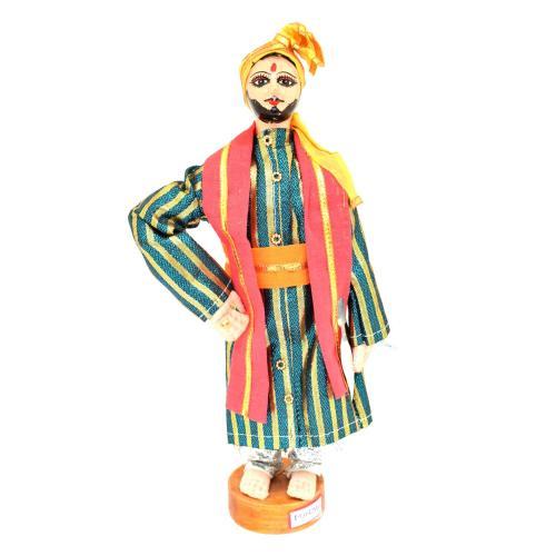 BENGALI FINE ART HAND MADE DOLL PANJABI BRIDE