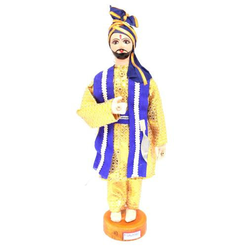BENGALI FINE ART HAND MADE DOLL PANJABI GROOM