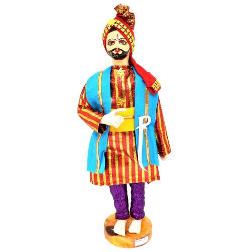 BENGALI FINE ART HAND MADE DOLL PANJABI GROOM