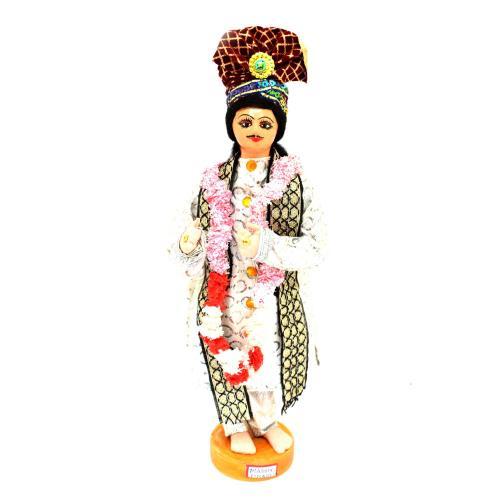 BENGALI FINE ART HAND MADE DOLL MADHYA PRADESH GROOM