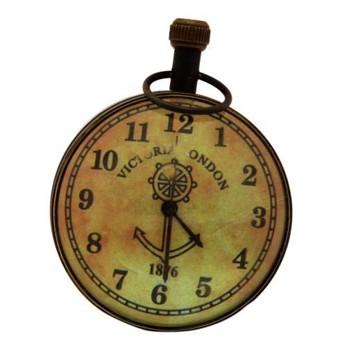 NAUTICALPAPER WEIGHT CLOCK