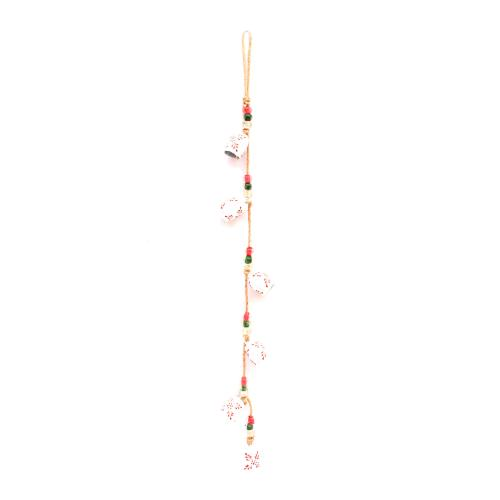 WHITE BELL STRING WIND CHIME