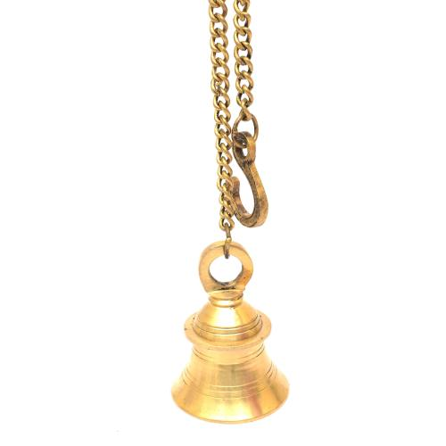 BRASS BELL WITH DESIGN