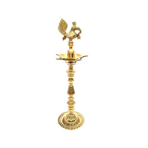 BRASS ANNAPAKSHI INAUGURATION OIL LAMP