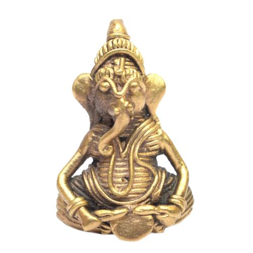 DHOKRA ART TINY GANESHA SITTING