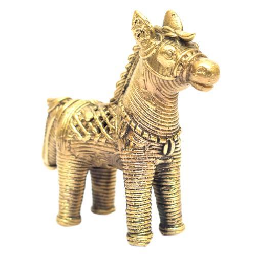 DHOKRA ART HORSE