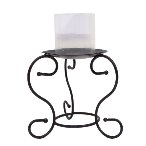 CANDLE STAND WITH GLASS