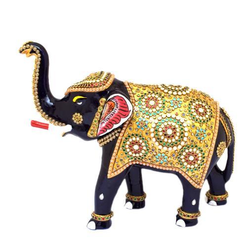 ELEPHANT UT JEWELLERY CUTTING SHAPE PAINTING