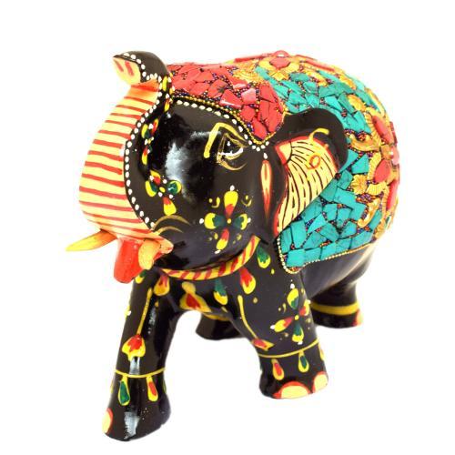 ELEPHANT UT NEPALI WORK PAINTING
