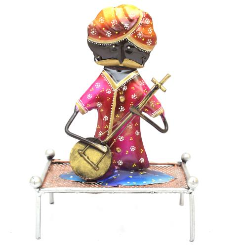 DECORATIVE HANDICRAFTS RAJASTHANI MUSICIAN MEN