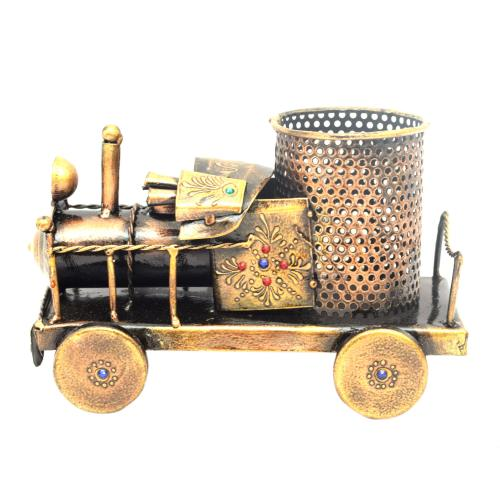 DECORATIVE HANDICRAFTS ENGINE PEN JAR