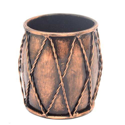 DECORATIVE HANDICRAFTS DHOLAK PEN STAND