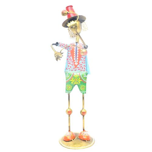 DECORATIVE HANDICRAFTS PAINTED JOKER MUSICIAN