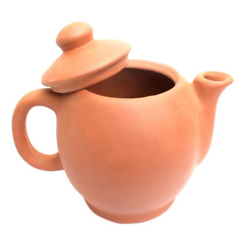 TERRACOTA UNGLAZE TEA POT EARTH 31