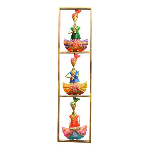 DECORATIVE HANDICRAFTS SARDAAR MUSICIAN PANEL
