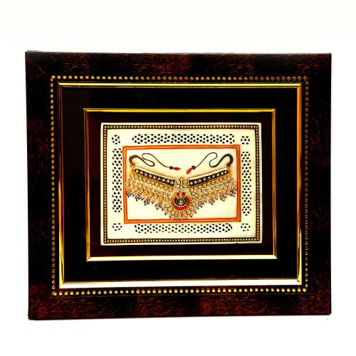 MARBLE TILE HAND MADE PAINTING JEWELLERY
