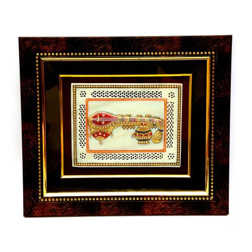 MARBLE TILE HAND MADE PAINTING MUSICAL