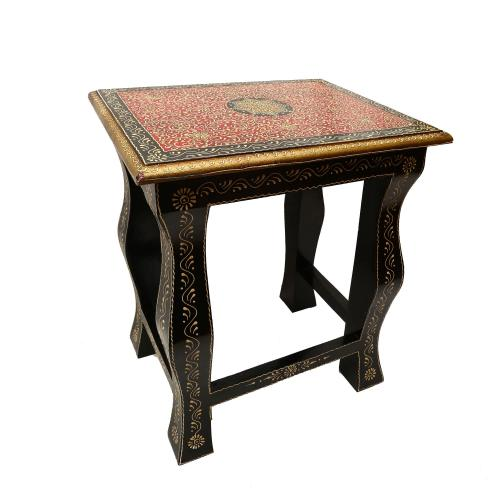 WOODEN PAINTED NESTING STOOL