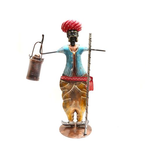 DECORATIVE HANDICRAFTS  PAINTED MEN STANDING
