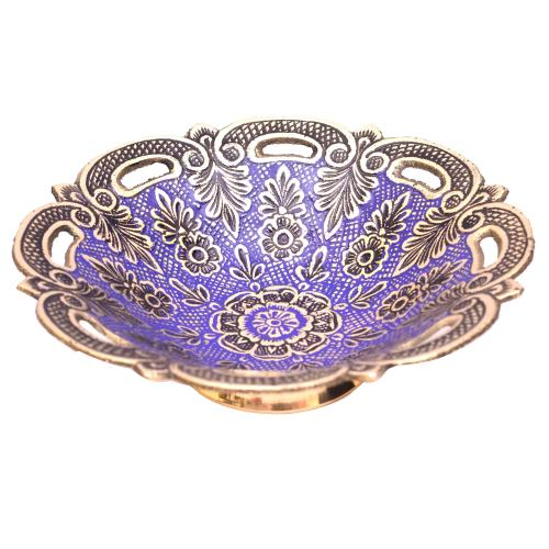 BRASS BOWL PAINTED