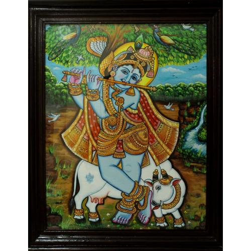 CANVAS PAINTING KRISHNA