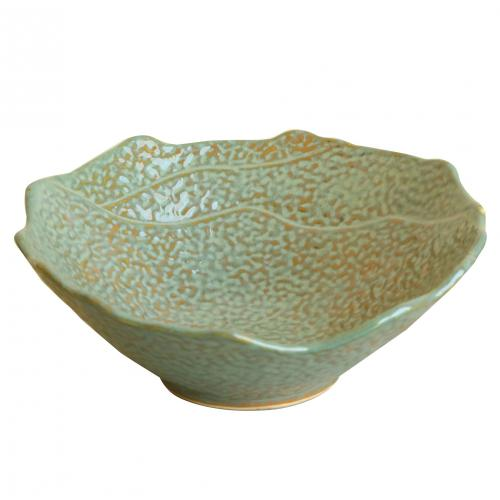 CERAMIC SPOTTED BOWL