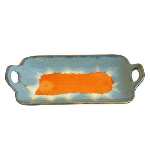 CERAMIC HANDLE TRAY