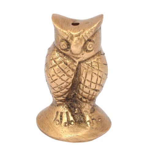 BRS SCULPTURE OWL INCENSE STICK HOLDER