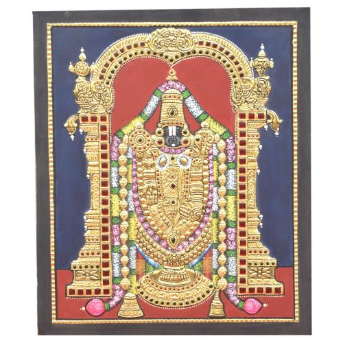 TANJORE PAINTING BALAJI ANTIQUE