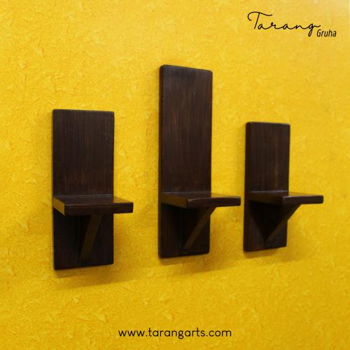 SET OF 3 WOODEN WALL HANGING
