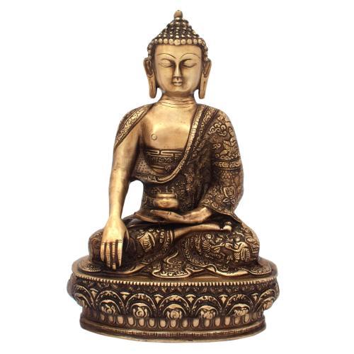 BRS BUDDHA SITTING ON BASE