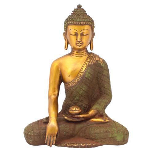 BRASS BASELESS MEDITATION BUDDHA
