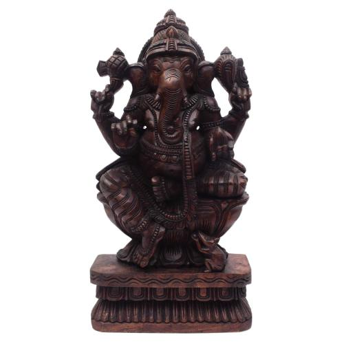 GANESHA VAAGAI WOODEN SCULPTURES