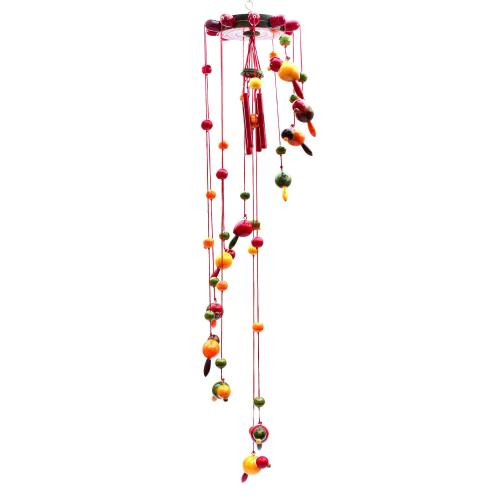 WOODEN BIRD ETIKOPPAKA HANGING HANDMADE DUSSERA DOLLS GOLLU DOLLS HOME DECOR TARANG HANDICRAFTS