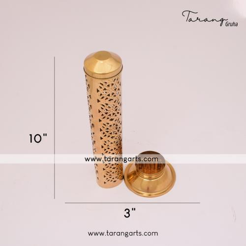 BRASS INCENSE HOLDER FOR HOME PURIFYING FOR HOME TEMPLE PUJA DECOR