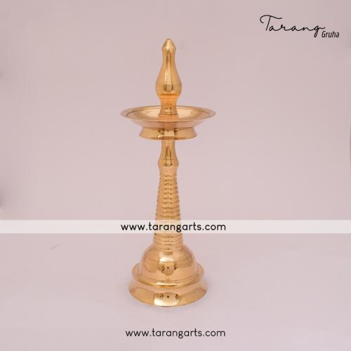 BRASS LAMP DEEPAM OIL LAMP HOME DÉCOR FOR  HOME TEMPLE PUJA DECOR
