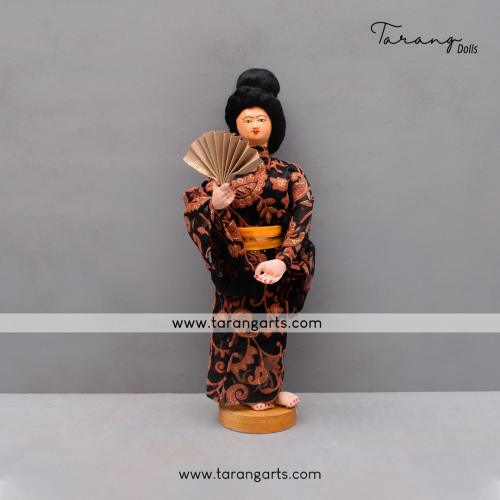 LADY BENGALI TRADITIONAL GOLU DOLLS HANDMADE HOME DECOR TARANG HANDICRAFTS