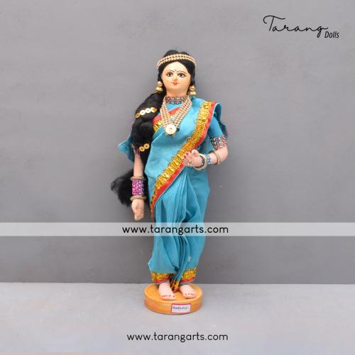 ANDHRA BRIDE BENGALI TRADITIONAL GOLU DOLLS HANDMADE HOME DECOR TARANG HANDICRAFTS