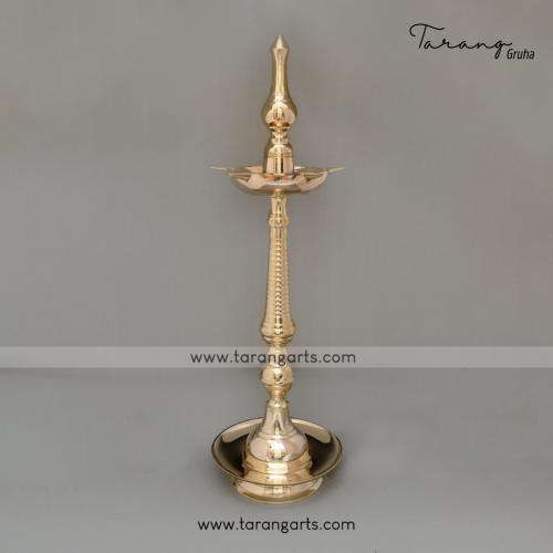 BRASS KUMBAKONAM OIL LAMP