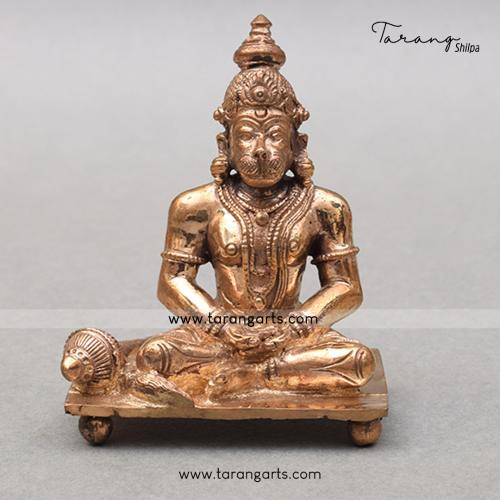 HANUMAN PANCHALOHA IDOL ANTIQUE FINISH