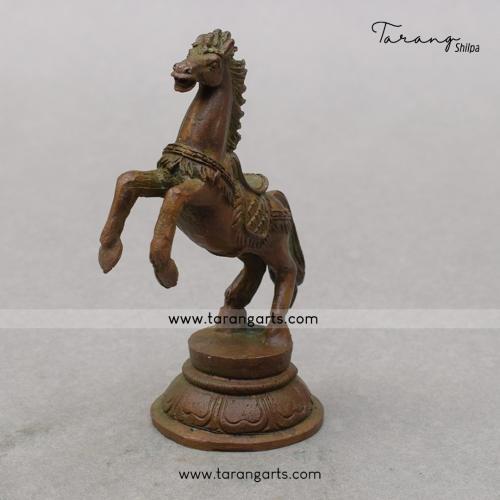 HORSE PANCHALOHA IDOL ANTIQUE FINISH
